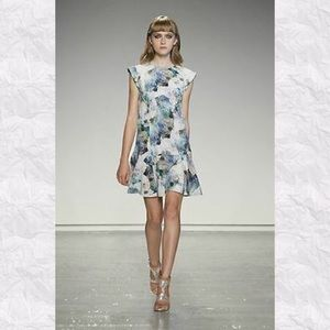 Rebecca Taylor Enchanted Gardens Floral Dress